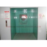 China Durable Industrial Elevator Lift Sunny Elevator 1168x1600mm Car Size on sale