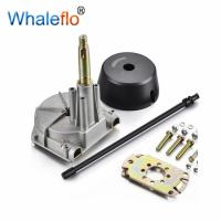 China Whaleflo Boat Marine Rack & Pinion Steering Kit System With Installation Parts YK7-B Marine Steering System on sale