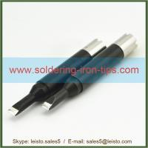 Quality Japan Unix Black chromium P6D-S soldering iron cartridge for Japan Unix soldering robot wholesale