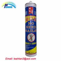 China Zhongshan strong bonding liquid nail construction adhesive on sale