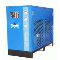 Quality Large capacity blue refrigerated compressed air dryer low noise 220V 3.8m³/min wholesale