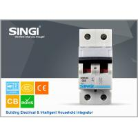 Quality SINGI SC63 63A 2 PHASE 400V CE certificate mini circuit breaker(MCB) manufacturer wholesale