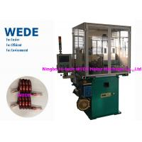 Quality Max 4mm Round Wire Coil Winding Machine With 3 Axis Servo Motor Flat Wire wholesale