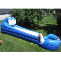 Cheap long inflatable commercial water slide for grassland - Commercial swimming pool water slides ...