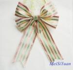 Quality Custom 12 Inch Luxury Large Christmas Ribbon Bows for  tree decorating wholesale