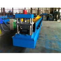 Quality 3 Tons Decoiler Door Frame Roll Forming Machine 40GP Container wholesale