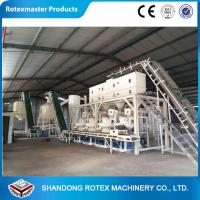 Quality Automatic Fuel Energy Biomass Wood Pellet Production Line for Rice Husk wholesale