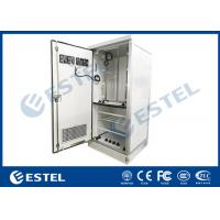 China Fans Cooling Galvanized Steel Outdoor Telecom Cabinet IP55 Double Wall With Heat Insulation on sale