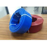 """Quality Soft Flexible Water Hose Pipe / Pvc Lay Flat Discharge Hose 3/4"""" - 16"""" Diameter wholesale"""