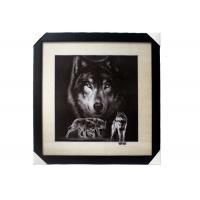 Quality Stock 5D pictures with Frame 3D Lenticular Pictures Popular Wolf Image wholesale