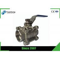 Quality Stainless steel full bore ball valves , 3PC Socket Welded ball valve wholesale