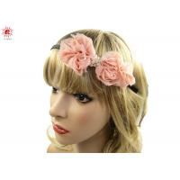 China Unique Bridal Bow Hair Bands For Wedding , Flower Hairband Hair Accessories on sale