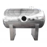 Quality 700 Gallon Custom Stainless Steel Tanks Steady Flow For Pumps wholesale