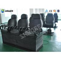 Quality Electric 5D Cinema Equipment With Black Motion Chair , Provide Accurate Motion Effect wholesale