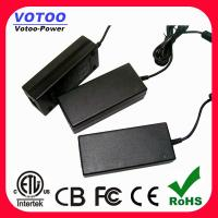 Quality 12VDC 5Amp AC DC Power Adapter , 60Watt LED Driver for CCTV security wholesale