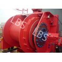 Quality Hydraulic Footstep Piledriver Winch Lebus Drum Offshore Winch For Rotary Drilling Rig wholesale