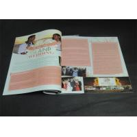 Quality Brochures / Catalogue / Magazine Printing Services With CMYK Printing wholesale