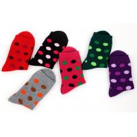 Quality Dots patterned design winter terry socks for women wholesale
