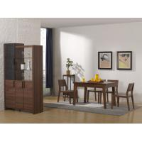 Quality 2016 Nordic Design Small Dining room furniture by Enlargeable Tables with Chairs and Wine Cabinet wholesale