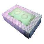 Quality Custom cheap pink cupcake boxes,mini cupcake boxes,designer cupcake boxes wholesale