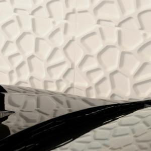 Quality Bathroom Waterproof Art  3d Wall Panels non-toxic , Heat isolation wholesale
