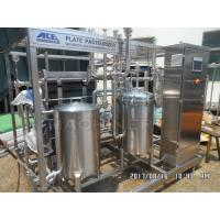 Quality Type 1000L Fruit Juice Continuous Plate Pasteurizer Sterilization Machine Plate UHT Sterilizer wholesale