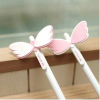Quality Personalized Gift Pens With Angel Wings , Novelty Pens Wholesale wholesale