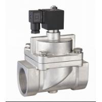 "Quality SS Piston NO High Pressure Air Valve , 20mm 3/4""Solenoid Valve High Temperature wholesale"