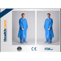 Unisex PE/ CPE Disposable Isolation Gowns Medical Patient GownsChemical Resistant