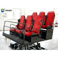 Quality 6 Seats Platform 7D Movie Theater Game Machine Shooting Gun Game Motion Chair wholesale