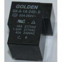 Quality GK-A JQX-105F-1 40A 12V Circuit Board Relays / PCB Mini Power Relay wholesale