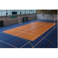 Recycled Rubber Gym Floor Tiles Anti Static For Basketball