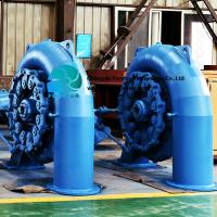 China Horizontal Hydro Francis Turbine With Free Energy Excitation Generator And Butterfly Valve on sale