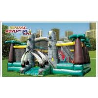 Quality Jurassic Adventure, inflatable game, inflatable slide wholesale