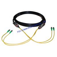 Quality Waterproof Fiber Optic Patch Cord FC / APC Multicore for CATV System wholesale