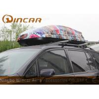 Quality ABS Car Roof Cargo Box Auto Cargo Carrier , 450L Car Roof luggage Box wholesale