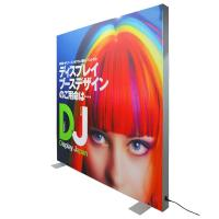 Quality Fabric Advertisement Light Box Textile Backlit Frame Double Visible Surface wholesale