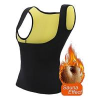 Quality Hand Wash Sweat Slimming Vest , Body Shaper Waist Trainer Light Weight Comfortable wholesale
