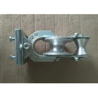Buy cheap 20KN Skyward Three Purpose Wire Rope Drive Pulley / Cable Pulling Pulley from wholesalers