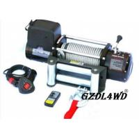China Steel Heavy Duty Truck Winch , 12000lbs Atv Electric Winch With Steel Rope on sale