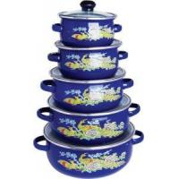Quality Enamel Casserole 5pcs set 12-20cm wholesale