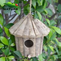 Quality Cheaper Nature Wood Bird House for Selling wholesale