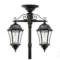 Quality Aluminum Cast Iron Light Pole For Garden Street Lighting Outdoor Lamp Post wholesale