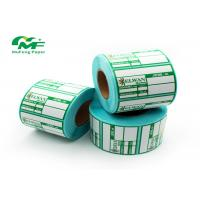 China Custom Eco Friendly Thermal Transfer Label Rolls Barcode For Clothes Jewelry Price Label on sale