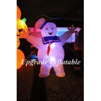 Quality Customized 3m H led lighting inflatable stay puft marshmallow man for party,event decoration wholesale
