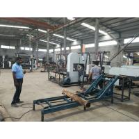 Quality CNC Twin Vertical Band Saw sawmill equipment for cutting wood log into square timber wholesale