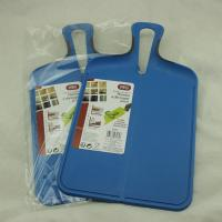 China PP Antibacterial Chopping Board , Household Plastic Cutting Board With Handle on sale