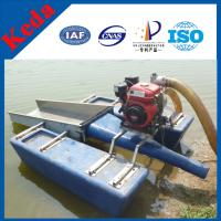 Buy cheap Blue Small Gold Dredger Boat for Sale from wholesalers