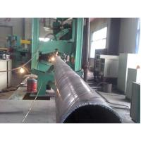 Quality EN 10219 / BS 1387 Spiral Welded Hot Rolled Steel Pipes For Shipbuilding / Electricity wholesale