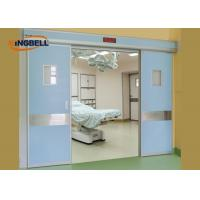 Quality Double Automatic Sliding Door Optional Knob Handing Medical Microcomputer Control System wholesale